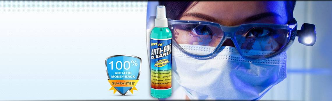 KleerVu Anti Fog Cleaner with doctor