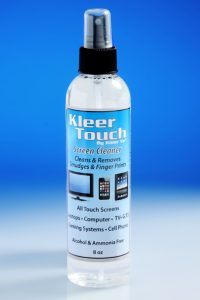 Kleer Touch Screen Cleaner 8 oz bottle